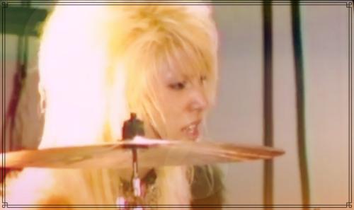TRAXのドラム時代のノ・ミヌさん
